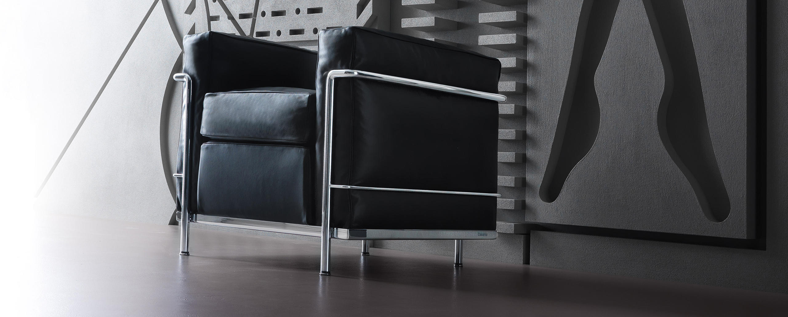 lc2 cassina le corbusier. Black Bedroom Furniture Sets. Home Design Ideas