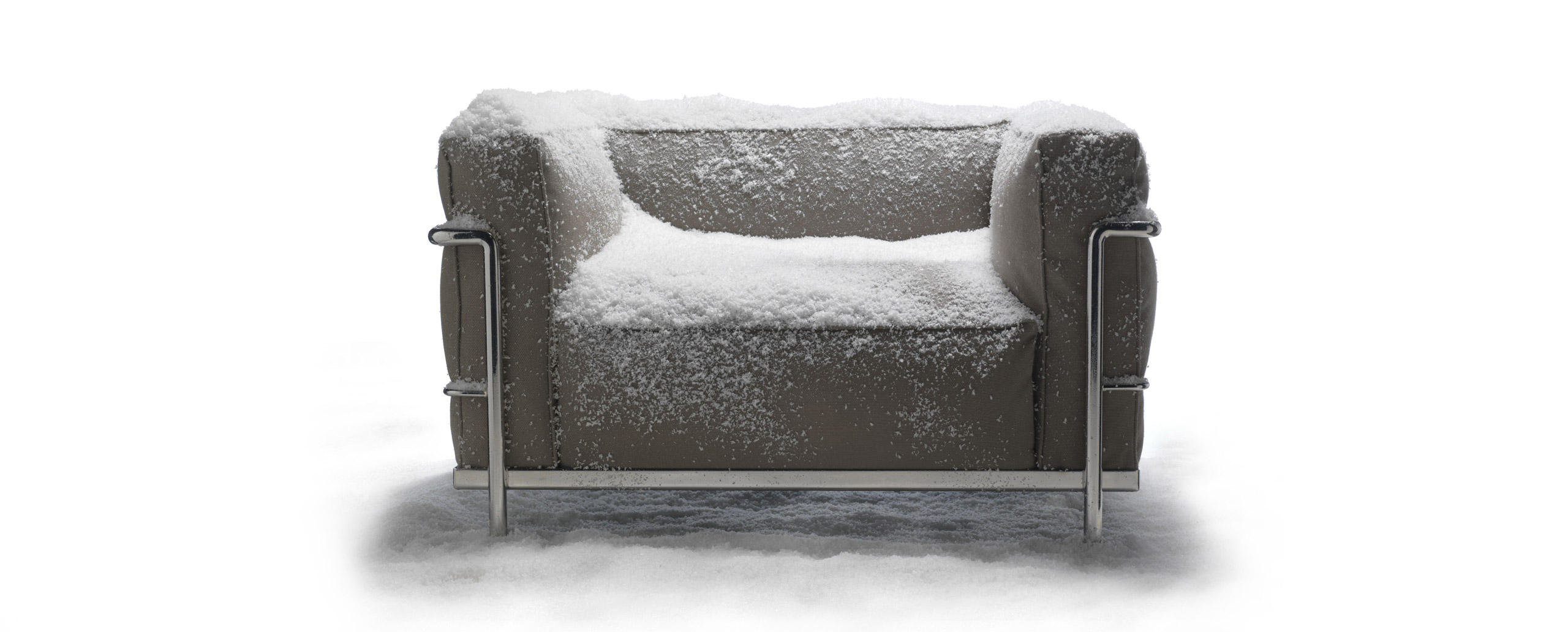 LC3 outdoor Cassina - Collezione Le Corbusier Cassina LC50