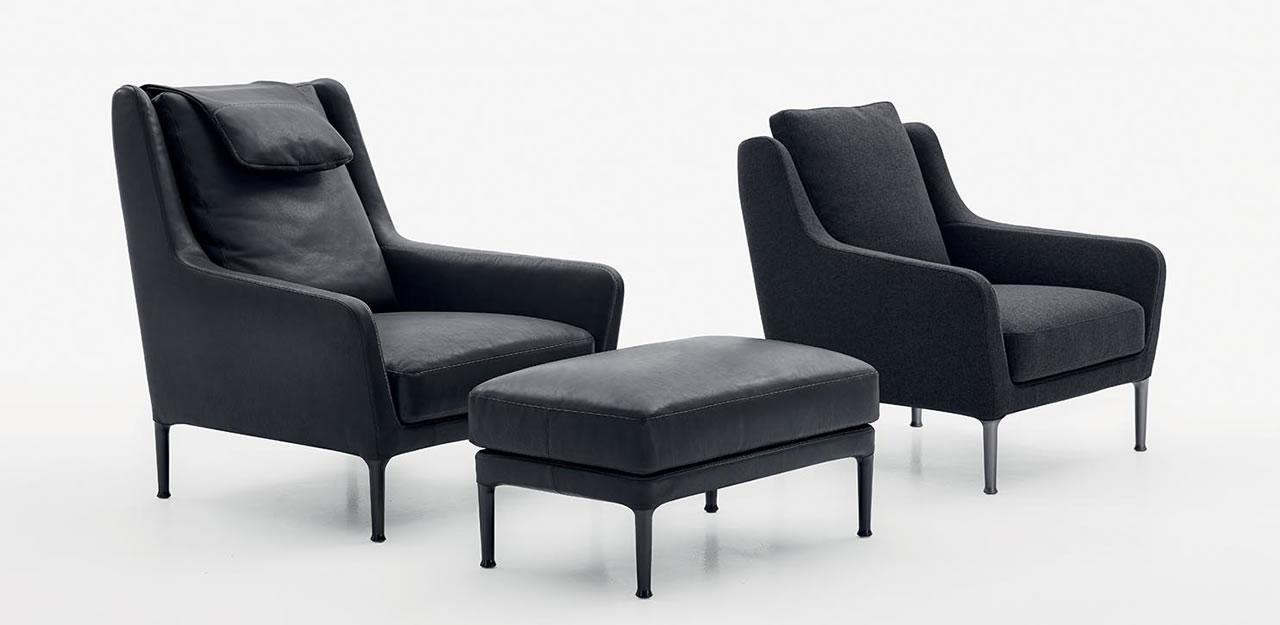 Edouard b b italia armchair edouard b b italia - B b italia design ...