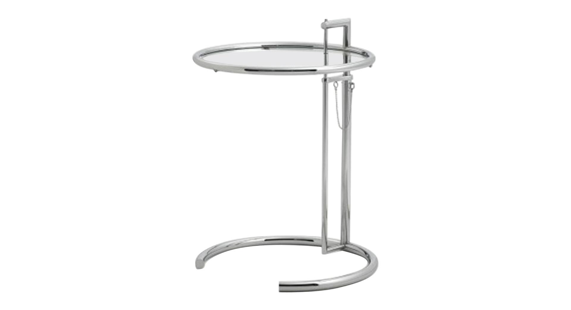 adjustable table e 1027 classicon small table adjustable table e 1027 classicon classicon. Black Bedroom Furniture Sets. Home Design Ideas
