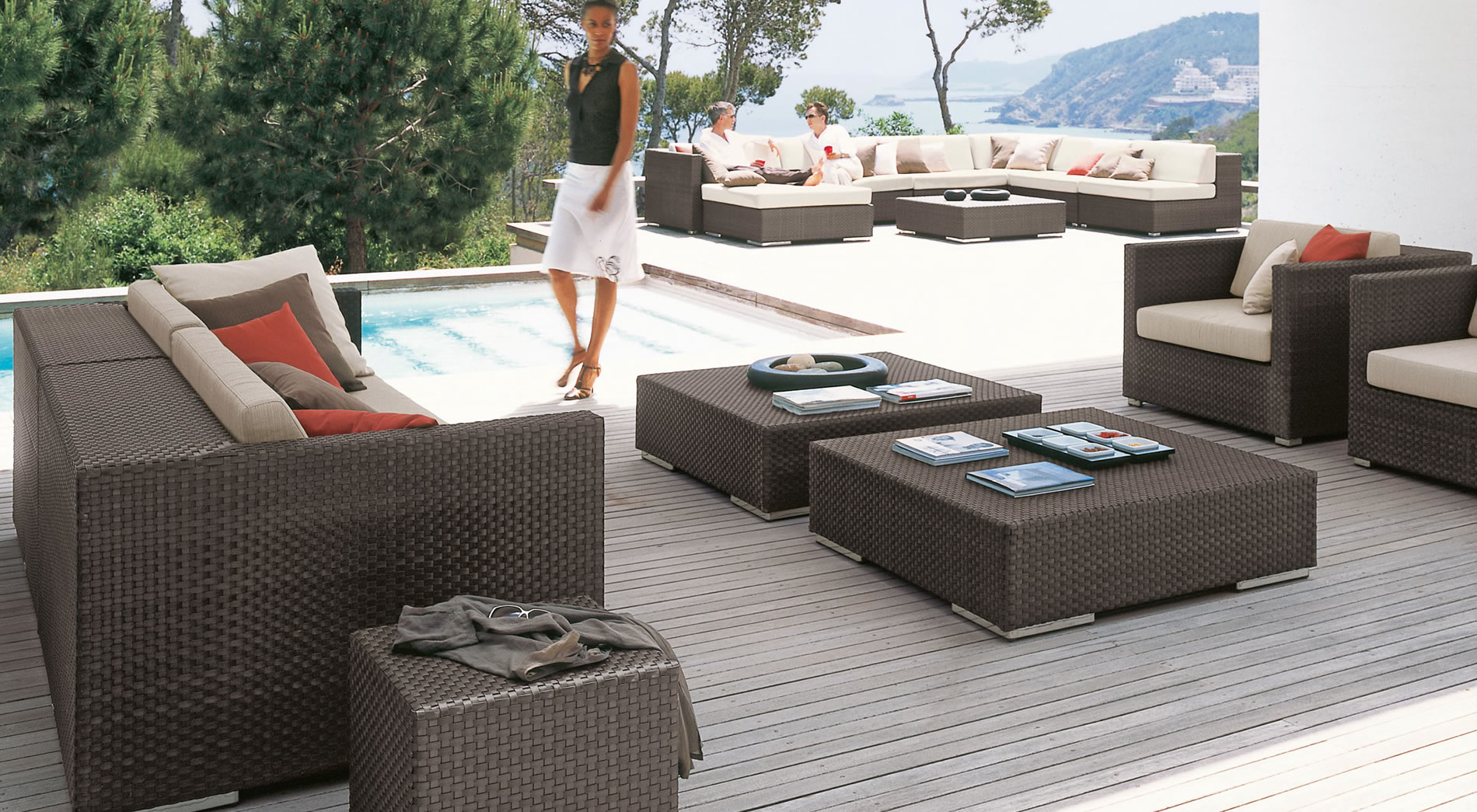 lounge dedon outdoor lounge dedon sofas lounge dedon. Black Bedroom Furniture Sets. Home Design Ideas