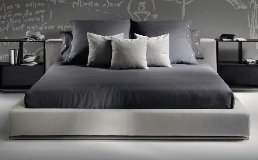 Groundpiece Bed Flexform