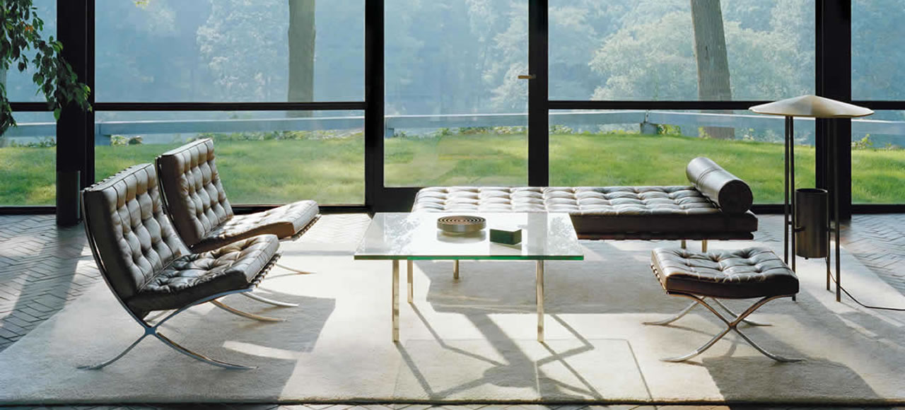 Barcelona Mies van der rohe Knoll International