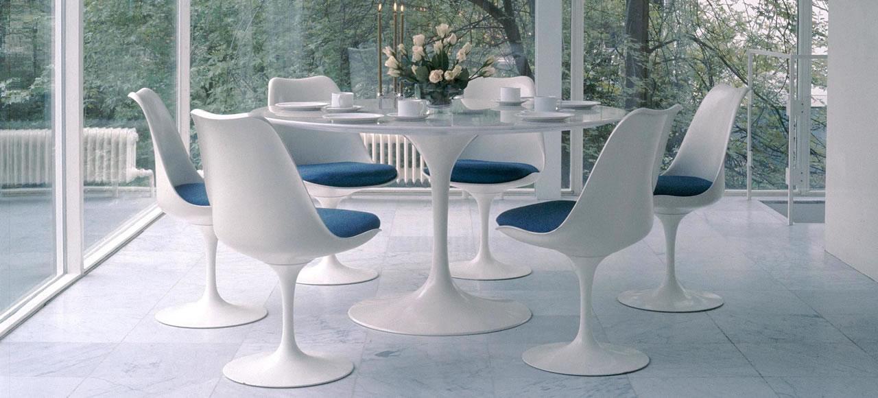 Tulip saarinen chair knoll international for Sedie design knoll