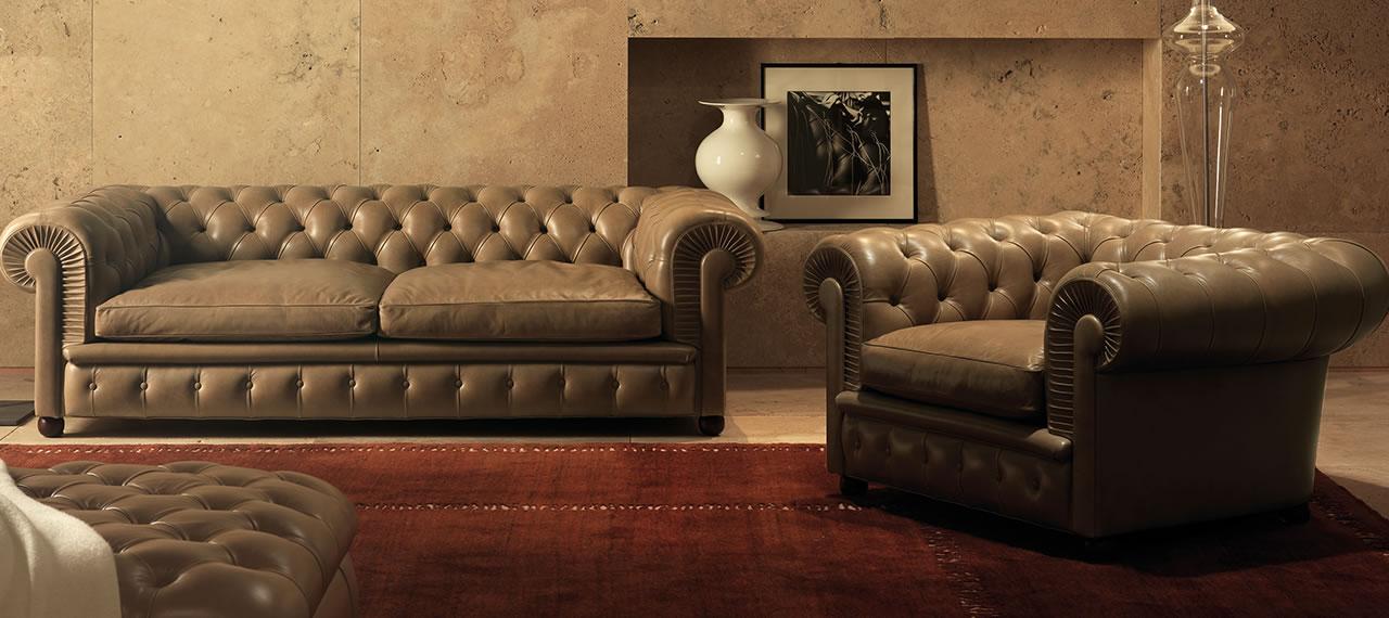 Chester & Chester One Poltrona Frau - sofa chester poltrona frau ...