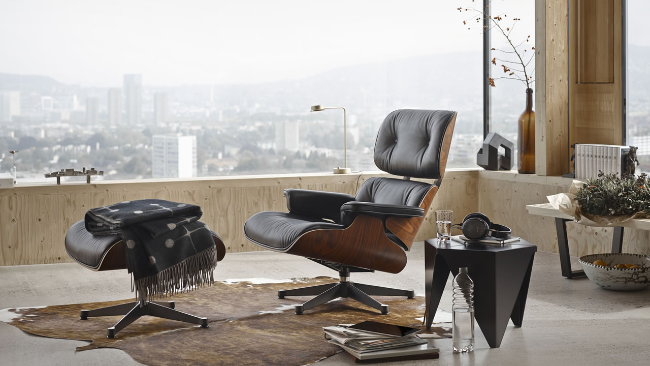 Eames lounge chair vitra aluminium group vitra eames plastic side