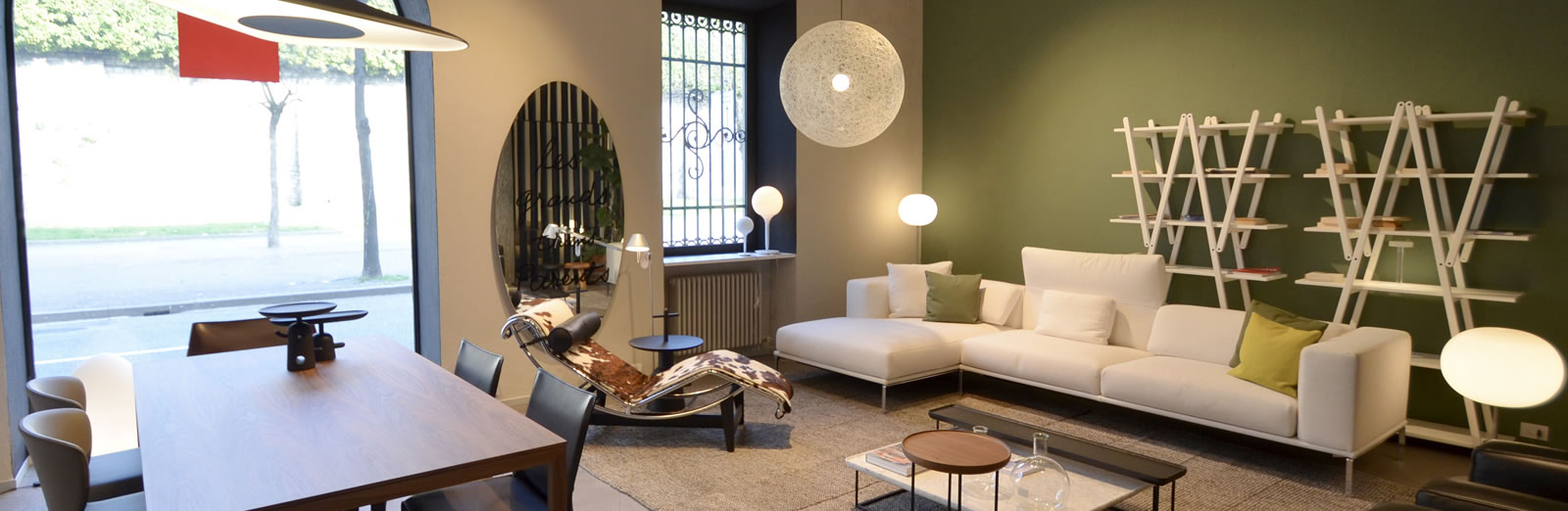 Showroom CassinaComo - showrooms Gerosa Design