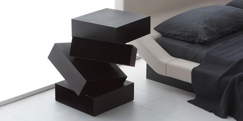 comodini porro knoll international b b italia flou flexform zanotta poltrona frau cassina porada. Black Bedroom Furniture Sets. Home Design Ideas