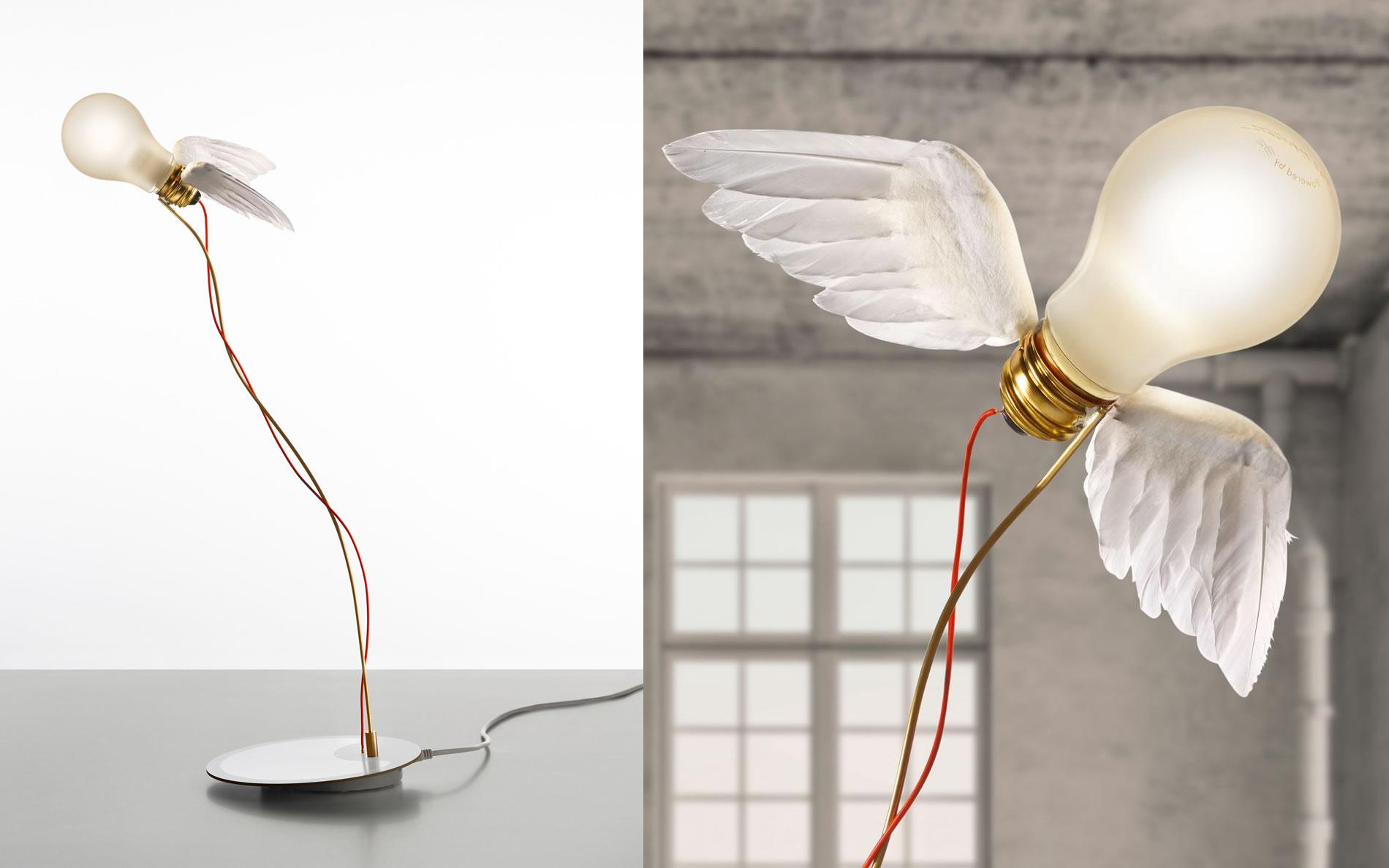 lucellino led ingo maurer lampada lucellino led ingo maurer lampada da tavolo lucellino led. Black Bedroom Furniture Sets. Home Design Ideas