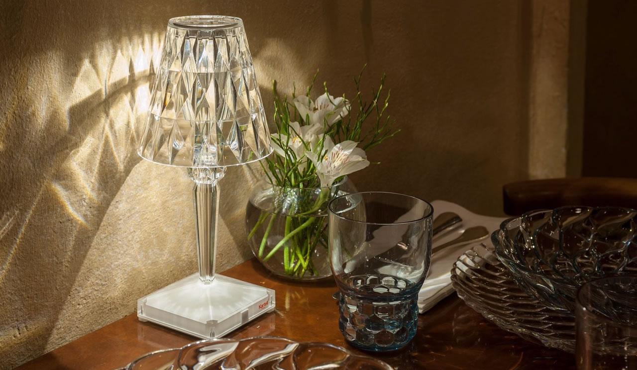battery kartell lampe battery kartell. Black Bedroom Furniture Sets. Home Design Ideas