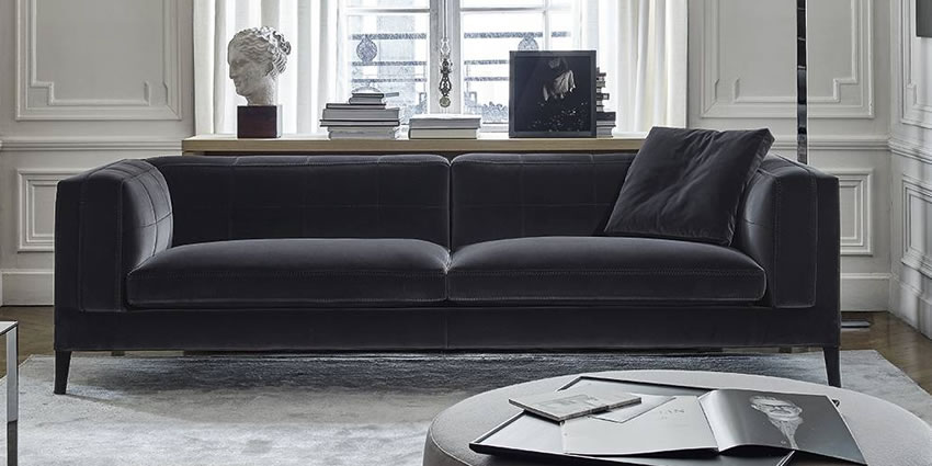 Sofas groundpiece flexform softdream flexform lc2 cassina for B and b divani