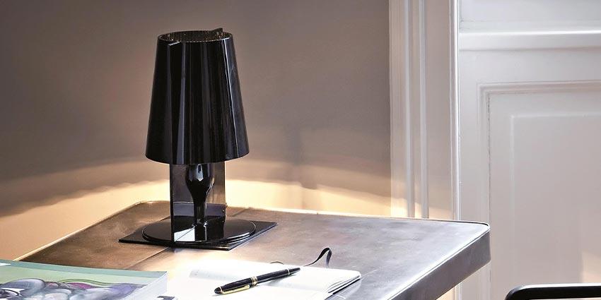 灯具 Table lamps IC Lights Flos Tolomeo and Tolomeo Micro Artemide ...