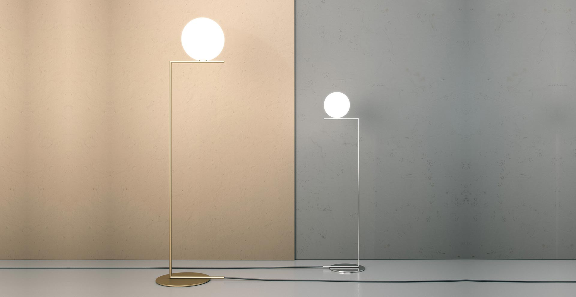 Plafoniere Flos : Flos button finest hl wall with best