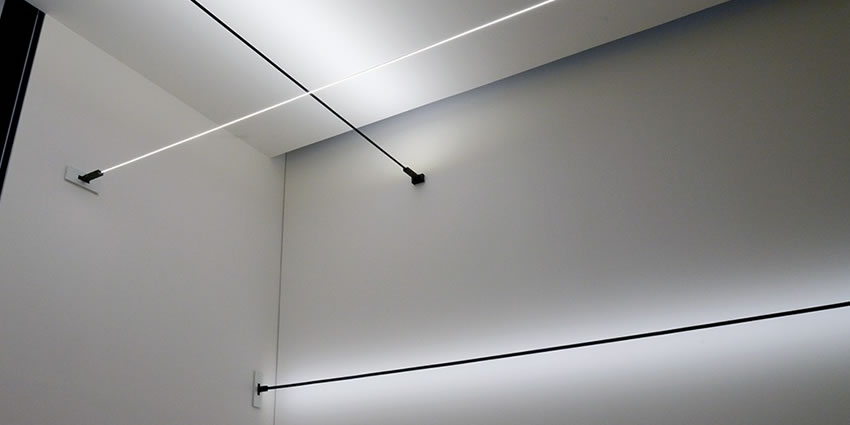 Artemide Surf Light Running System Magnet Bürolampen Flos ALR34j5