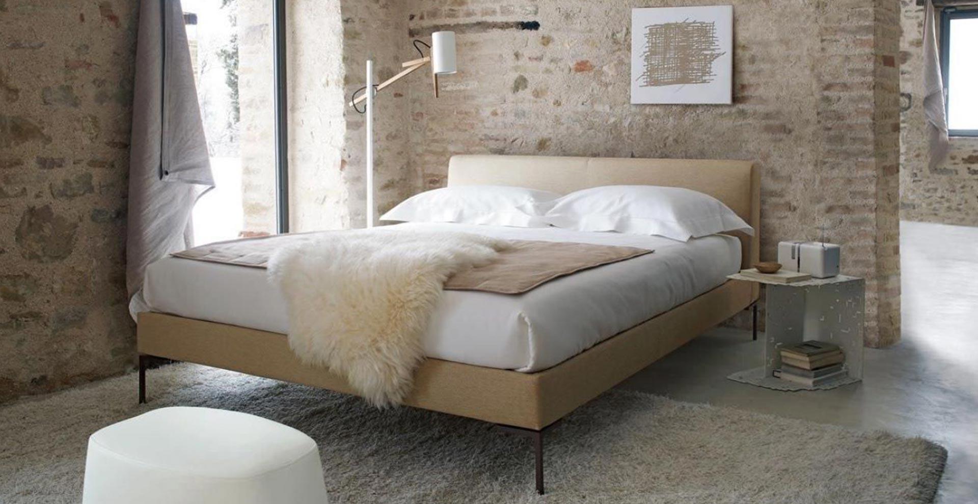 charles bed b b italia. Black Bedroom Furniture Sets. Home Design Ideas