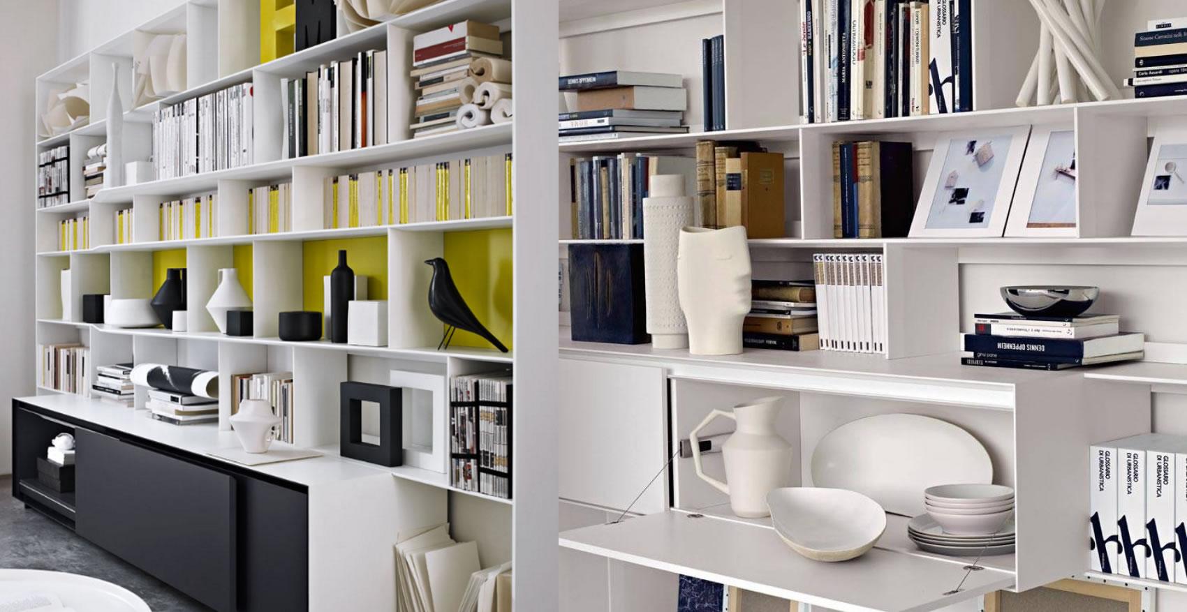 Flat c b b italia flat c b b italia bookcase flat c b for B b italia