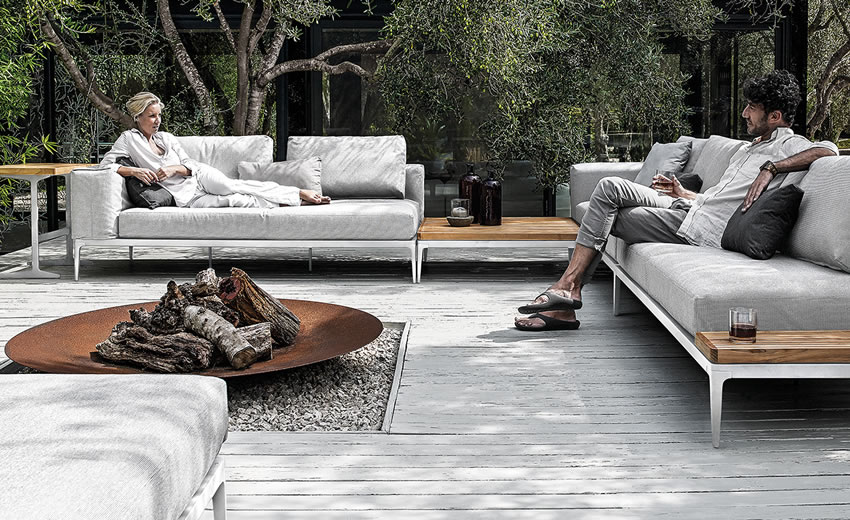 Grid Lounge Gloster - Outdoor