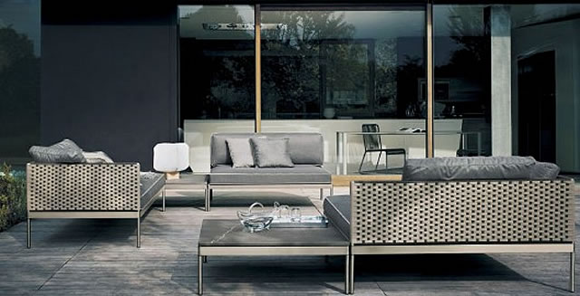 paola lenti b b italia collection alias b b italia roda dedon. Black Bedroom Furniture Sets. Home Design Ideas