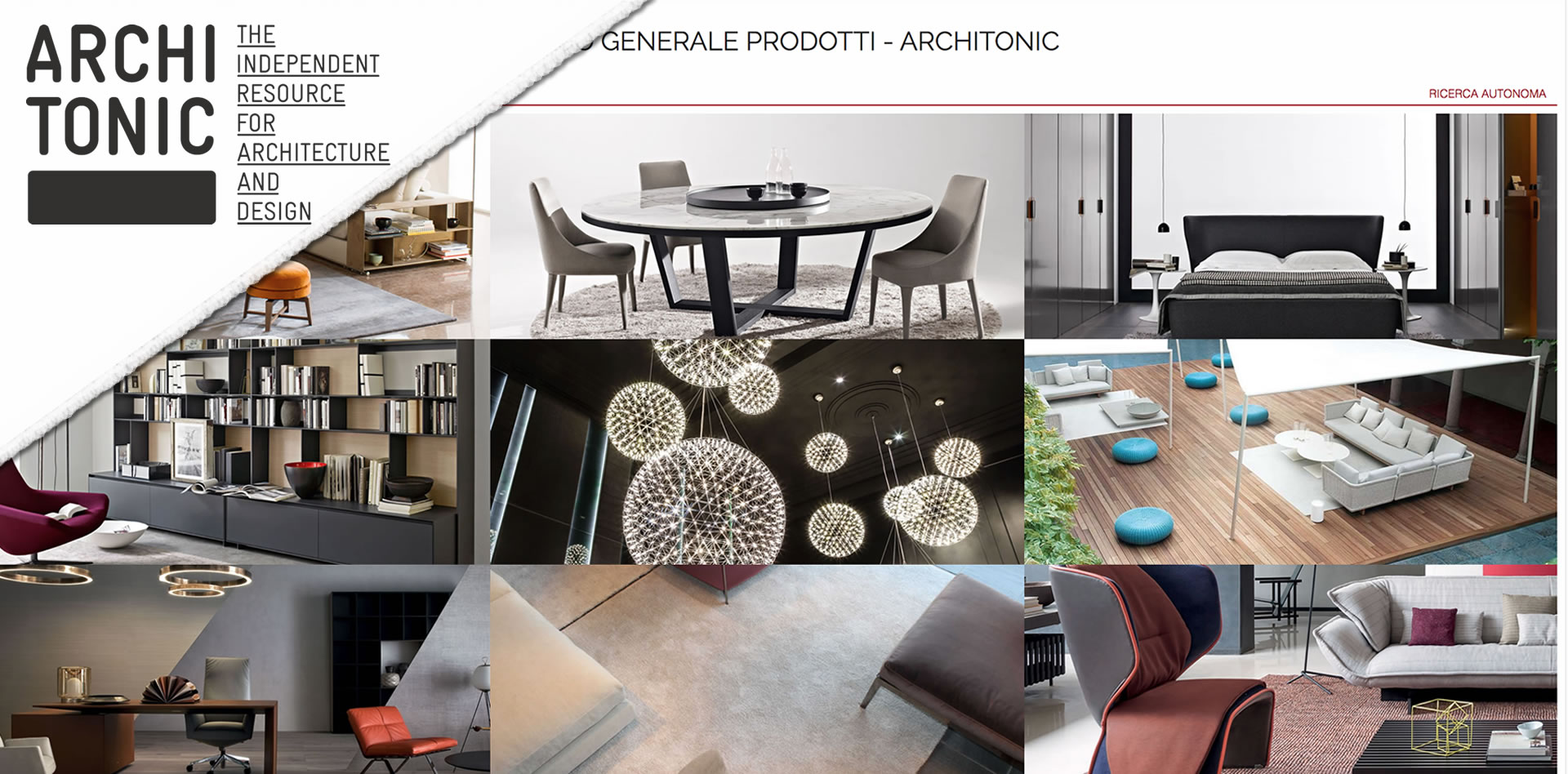 Gesamtkatalog Architonic - Gerosa Design