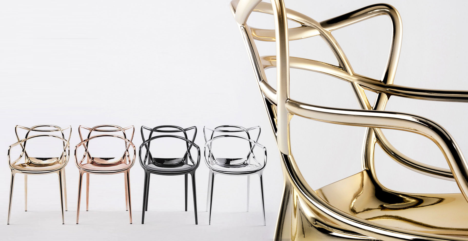 Emejing sedia kartell masters ideas for Kartell binasco