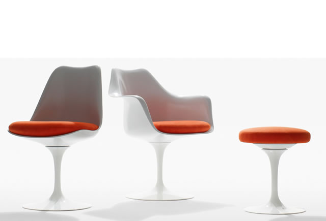 tulip saarinen chair knoll international