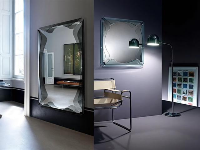 Specchi rettangolari da parete economici manie orologio - Specchi particolari da parete ...
