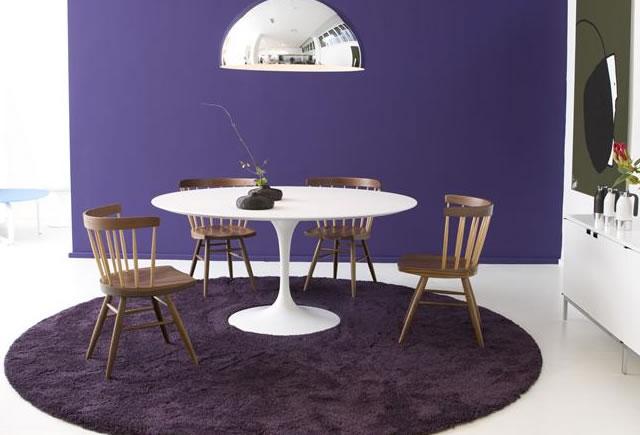 Table basse ovale saarinen knoll for Knoll table ovale