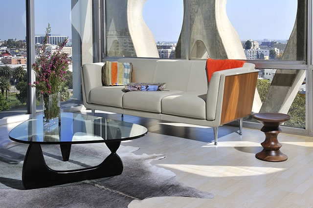 Table Basse Chene Massif Avec Tiroir ~ Cassina Knoll International Flexform Fiam Italia Maxalto Vitra