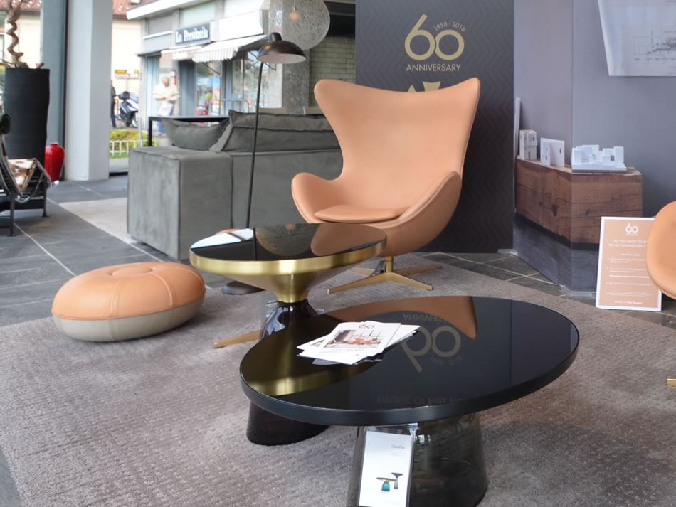 Egg Fritz Hansen 60th Anniversary Collection