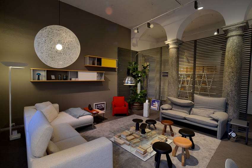 Geschäfte cassina como gerosa design interior design