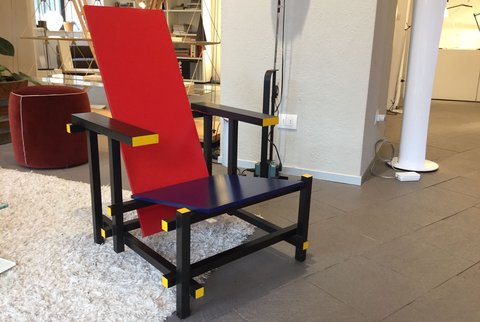 635 Red and Blue Cassina