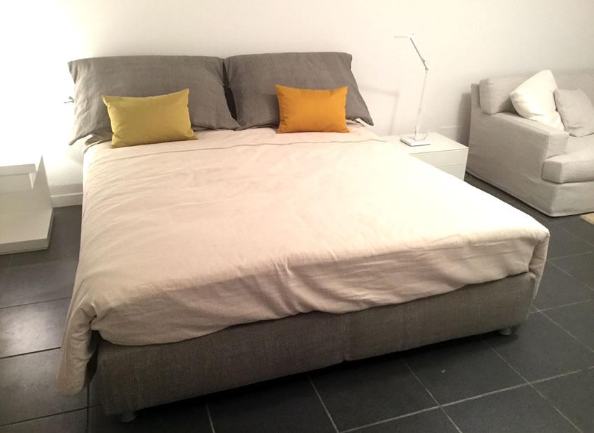 Special Offer Bed - Nathalie base comfort Flou