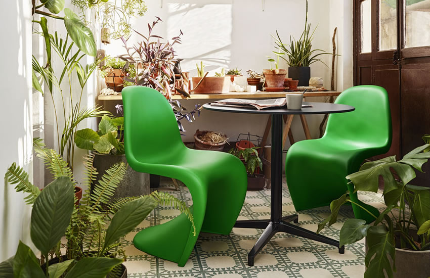 Special Offer Chair - Panton Chair Summer Green Vitra